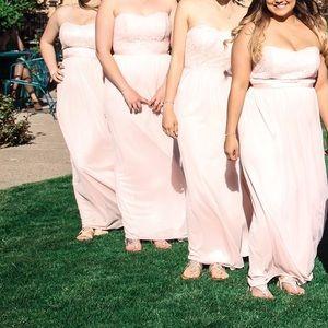 David's bridal bridesmaids dress